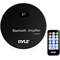 Pyle PLMRM4BTA Marine Bluetooth Amplifier Receiver - Water Resistant Amp, MP3/USB/Aux
