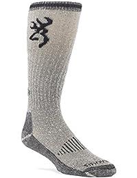 Men's Redwood Wool Hunting Socks | Single and Multi-Pair Packs | Size Large