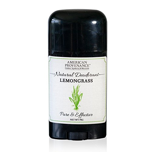 American Provenance Natural Deodorant, Lemongrass, 2.75 oz/75 gr ()
