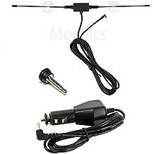 Movaics (Mobaikusu) Panasonic (Panasonic) sucker type Gorilla (Gorilla) Seg TV antenna CA-PDTNF26D substitute + DC power supply (cigar power supply) + parking release with plug ANT3-1 + DC1 + P