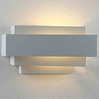 Modern LED Wall Light Up And Down Lights Lamp E27 Perfect For Living Room Bedroom Lamps Night Warm WhiteLight Bulb Include