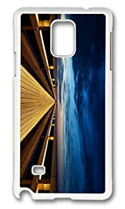 Adorable Endless Wooden Bridge Hard Case Protective Shell Cell Phone For Case Ipod Touch 5 Cover - PC White