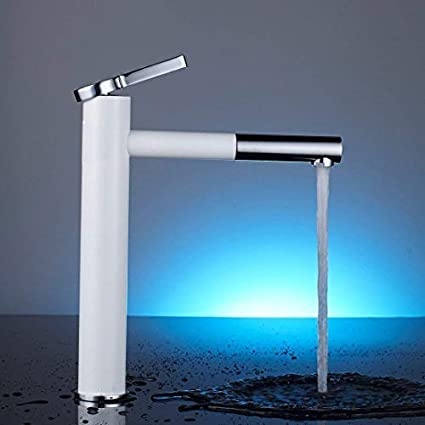 ALTON Brass Single Lever Basin Mixer with 360 Rotation Nozzle/Hot & Cold Wash Basin Faucet