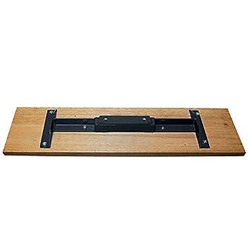 36 x 7-1//4-Inch Kraft Tool CC985 Cali Mahogany Bull Float with 2-hole Bracket Bar