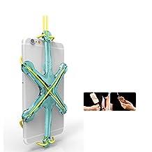 PME Universal Sport Phone Case Holder Necklace Lanyard Strap for iPhone SE 6 6S 5 5S Samsung Galaxy Note Google Nexus Moto (Light Blue)