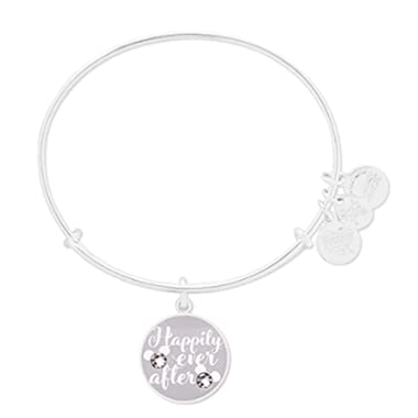 Disney Parks Alex & ANI Happily Ever After Bangle Bracelet