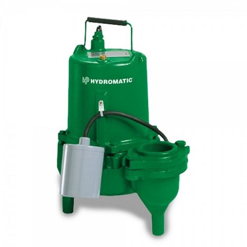 - Hydromatic MSKV50AW1 10 Submersible Sewage Pump Tethered Float Switch, 1/2 HP, 115 Volts, 1 Phase, 2