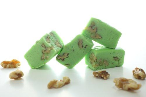 Oh Fudge - Pistachio Nut Fudge 1 Pound - The Oh Fudge Co. secret fudge recipe - creamy, smooth, and rich flavored pistachio with whole walnuts - compared to Mo's Fudge Factor