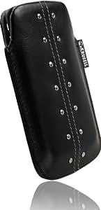 Krusell Kalix - Funda para Samsung C3050, color negro