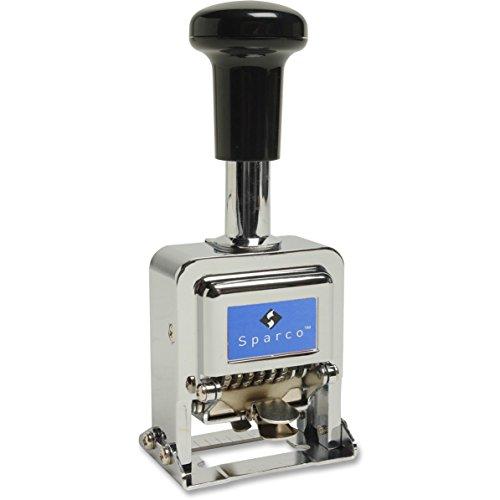 Numbering Machine 7 Wheels (Sparco 80067 Numbering Machine,6 Wheels,1/10