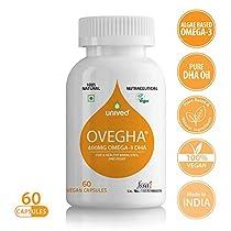 Unived Ovegha Dha Max Vegan Algae Omega3 Dha 400Mg Dha Brai