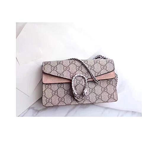 (Dionysus Women Handbag Senior canvas Shoulder bag velvet bag Cross body bag-khaki)