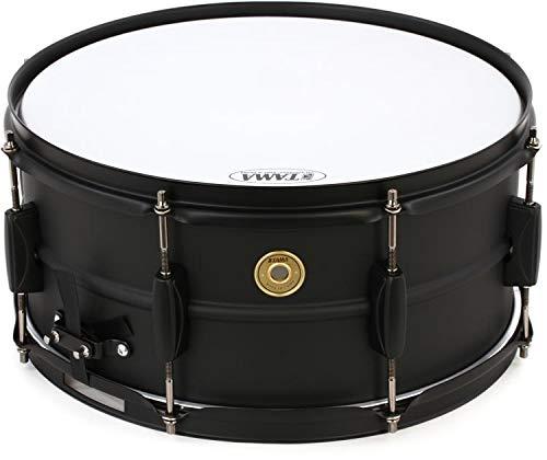 Tama Steel Snare Drum - 6.5'' x 14'' - Black/Black