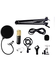 OZSTOCK BM800 Condenser Microphone Kit Studio Suspension Boom Scissor Arm Sound Card