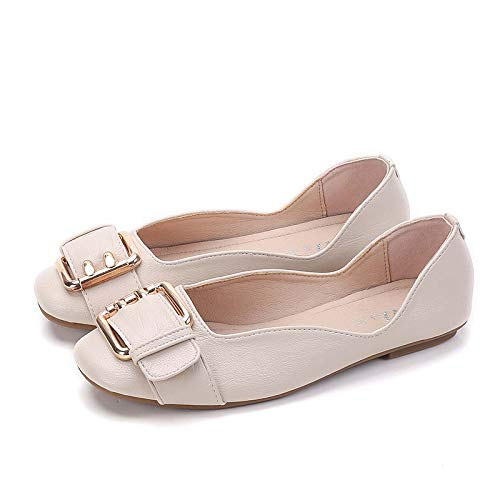 la Zapatos de del Moda Zapatos Baja Embarazadas Mujeres Zapatos del Ocasionales de Las de otoño Primavera la cómodos y Antideslizante Planos Boca la de B Trabajo FLYRCX wIdtqpq
