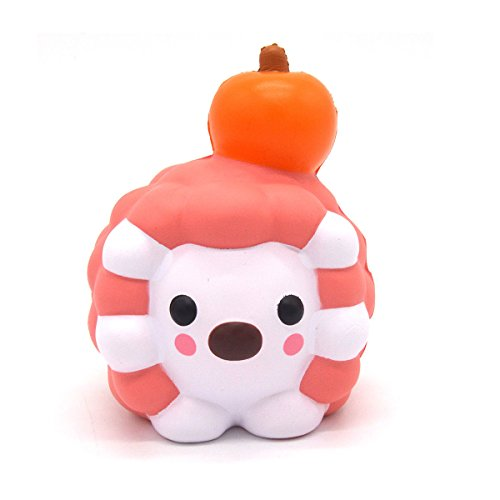 Squishy Hedgehog Doll 12CM Slow Rising Scented Halloween Gift Toy (Halloween Oreo Cheesecake Cupcakes)