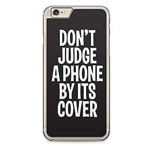 Funny iPhone 6 Plus Transparent Edge Case - Internet Say Shit