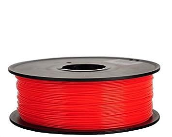 Filamento 3d Flexible (elastómero termoplástico) rojo 3.00 mm Para ...