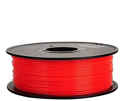 Filamento 3d Flexible (elastómero termoplástico) rojo 1.75 mm para ...