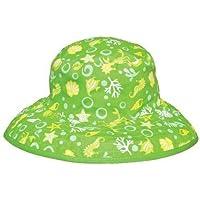 Baby Banz 40921 Banz 50+ UV Koruma Çift Taraflı Güneş Şapkası, Mavi
