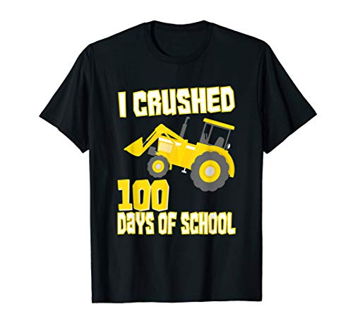I Crushed 100 Days Of School | 100 Days Of School T-Shirt for $<!--$16.99-->