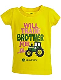 Girl's Yellow Trade Brother Tee