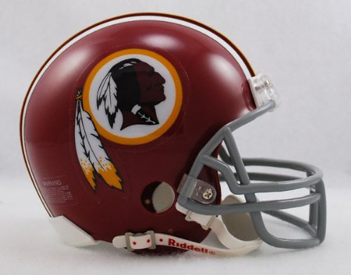 Washington Redskins 1972-77 Throwback Replica Mini Helmet w/ Z2B Face Mask by Riddell