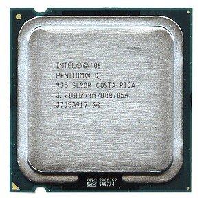 Processor Pentium 4 Lga775 Intel (Processor - 1 x Intel Pentium D 935 / 3.2 GHz ( 800 MHz ) - LGA775 Socket - L2 4 MB ( 2 x 2 MB ) - OEM)