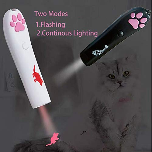 ANG Cat Catch LED Projecter Chasing Toy Pet Interactive Toy (Pack of 2) 4