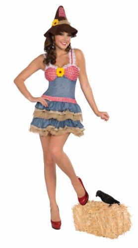 Forum Novelties Women's Sultry Scarecrow Costume, Multi, Medium/Large]()
