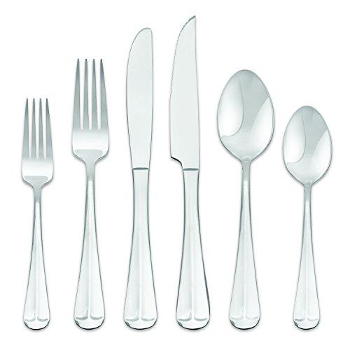 - Hampton Forge 290Z036WGB Lexington Dinner Set, Silver
