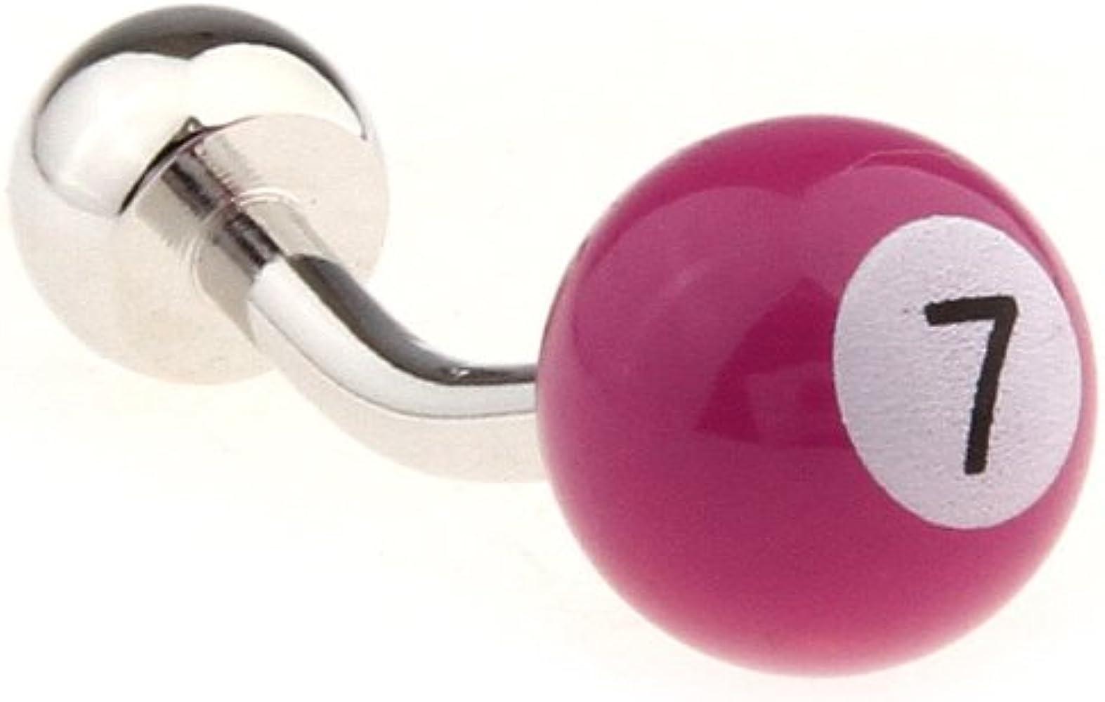Gemelolandia - Gemelos bola de billar n 7 fucsia de forma redonda ...