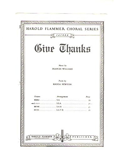 Give Thanks Music Sheet - 7