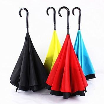 YUSAN® Paraguas Extraño nuevo creativo doble inversa paraguas paraguas paraguas sombrillas , c type double