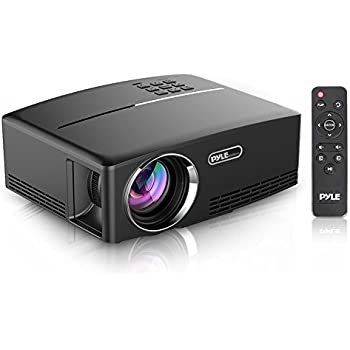 Pyle Multimedia Home Theater Projector - Portable HD 1080p LED with USB HDMI Digital Data System Projection for Entertainment Video Photo Game Full ...