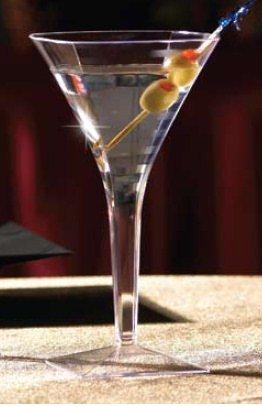 EMI YOSHI, Squares 8 oz. Martini Glass, Clear, 72 per case by EMI Yoshi
