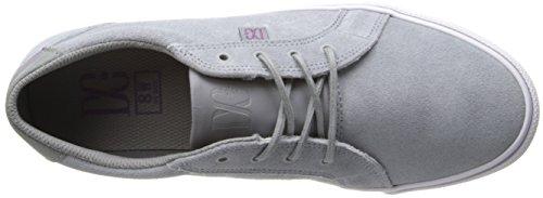 Femme W Gris Light Dc Basses Shoe J Council Grey Shoes Baskets q6ZO4P