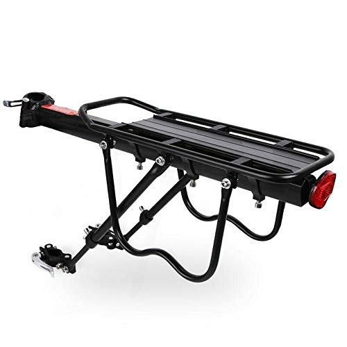 Bicycle Bike Mounted Cargo Rack Rear Back Seat Luggage Carrier Quick Release