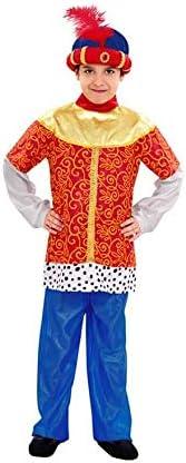Disfraz de Paje del Rey Baltasar de niño en varias tallas: Amazon ...