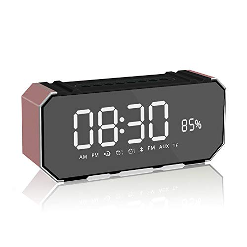 xingganglengyin Wireless Bluetooth Speaker New Mini Portable Alarm Clock Mini Speaker Computer Car Subwoofer by xingganglengyin (Image #5)