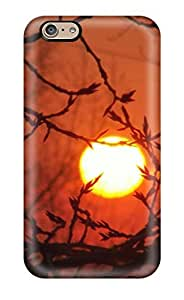 Iphone 6 Case, Premium Protective Case With Awesome Look - Evening Sun Throught The Branches