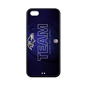 Custom Baltimore Ravens Back Cover Case for iphone 5C JN5C-462