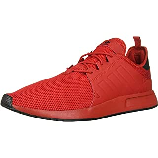 adidas Originals Men's X_PLR Running Shoe, Scarlet/Scarlet/Black, 4 M US