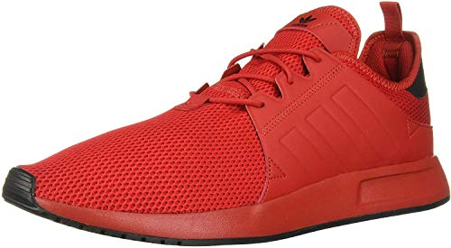 adidas Originals Men's X_PLR Running Shoe, Scarlet/Scarlet/Black, 4.5 M US