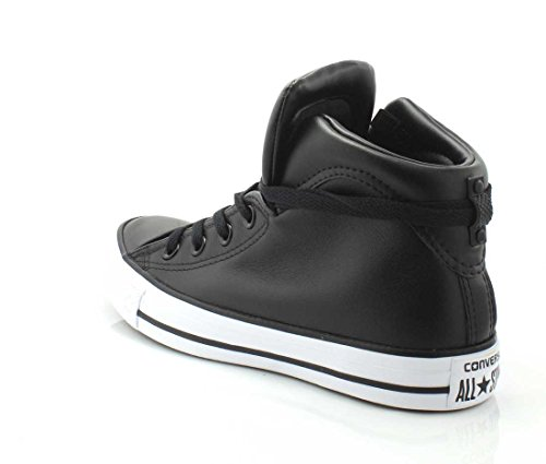 Converse Womens Chuck Taylor All Star Brookline Mid Sneaker Nero / Nero / Bianco