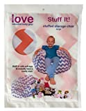 Lilly's Love Chevron Storage Bean Bag Chair