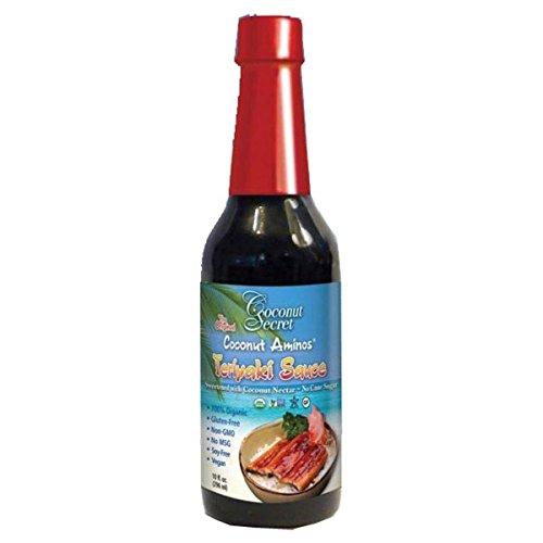 Coconut Secret Organic Teriyaki Aminos Seasoning Sauce, 10 Fluid Ounce - 12 per case.