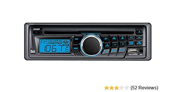 amazon com dual xd1222 in dash am fm cd player with front panel aux rh amazon com Dual XD1222 Wire Harness XD1222 Dual 12 Pin Connector