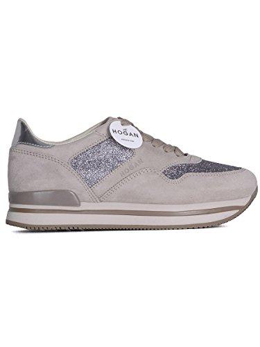 Hogan Sneakers Donna HXW2220N624G440QZ9 Pelle Beige