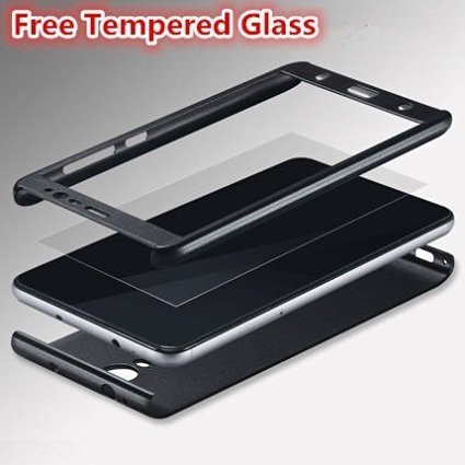 quality design 38de6 85bea iPaky SAMSUNG GALAXY J2 2016 Full Protection PC Front & Back Cover Case  (WITH FREE TEMPERED GLASS)